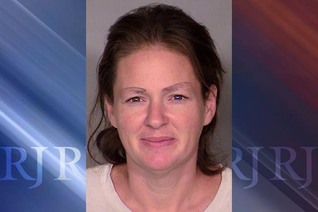 Past booking photo of Jennifer Mustachia. (Courtesy Las Vegas Metropolitan Police Department)