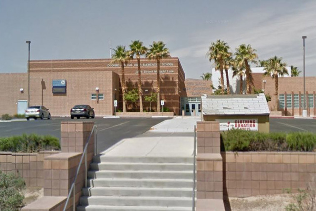 "Las Vegas police are investigating a threat to ""blow up"" a Summerlin elementary school. (Screengrab/Google Street View)"