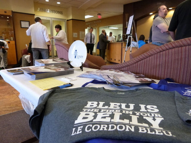 Le Cordon Blue College of Culinary Arts Las Vegas, 1451 Center Crossing Road, hosted the ProStart culinary competition Feb. 25 and 26. The contest featured teens from throughout the area showcasin ...