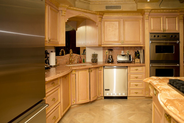 Tonya Harvey/Real Estate Millions  The penthouse kitchen.