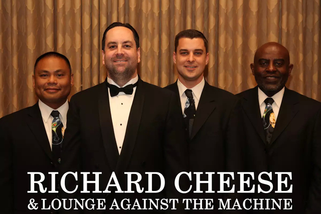 Richard Cheese and Lounge Against the Machine (Courtesy)