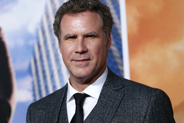 Actor Will Ferrell poses at the UK Premiere of the film Anchorman 2 in Leicester Square, London, December 11, 2013. (REUTERS/Andrew Winning)