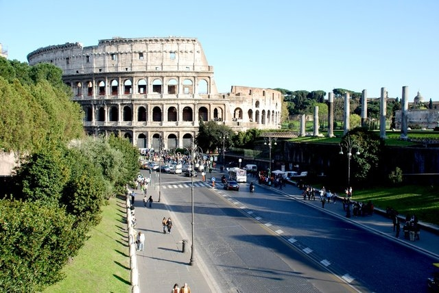 File photo of the Colosseum in Rome, Italy. (CNN)