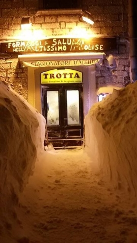 The Italian village of Capracotta received 100.8 inches of snow on Thursday, March 5, 2015, setting the all-time mark for most snow in 24-hours. The nearby city of Pescocostanzo, about 21 miles  a ...