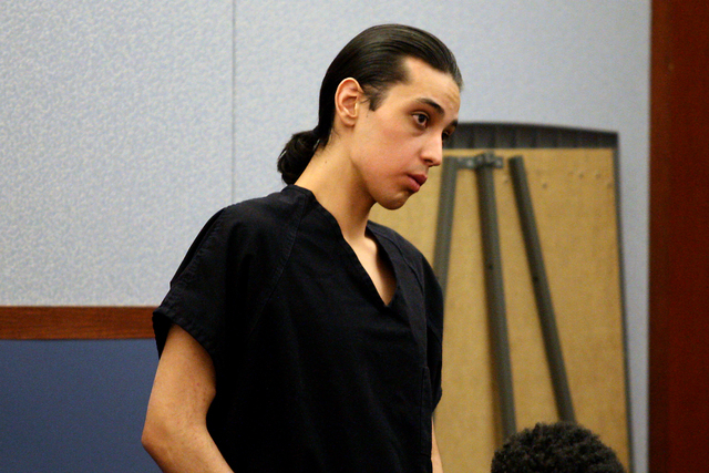 Jerry Santisteven, codefendant of Elijah Alvarado in a skateboard park shooting that left a teenager paralyzed from the chest down in 2012, is sentenced to 16 to 45 years in prison by Judge Stefan ...