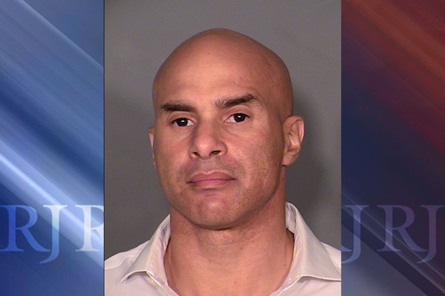 Andrew Scott Martin, a 47-year-old board-certified orthopaedic surgeon, pleaded guilty Wednesday to three counts of possession of a controlled substance. (Courtesy/Las Vegas Metropolitan Police De ...