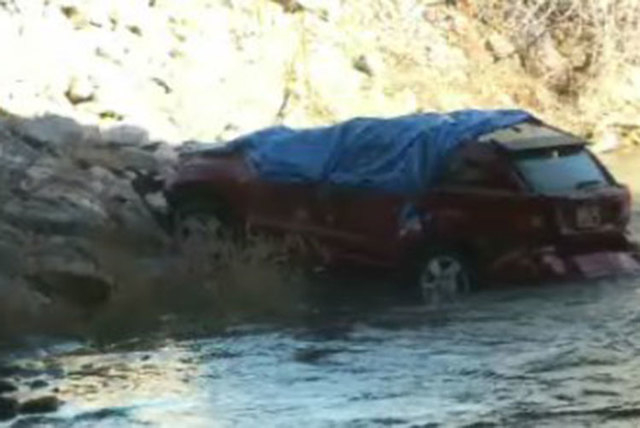 An 18-month-old girl was found alive in her car seat on Saturday, March 7, 2015, almost 14 hours after the car she was in crashed into the Spanish Fork River in Utah. Her 25-year-old mother died i ...