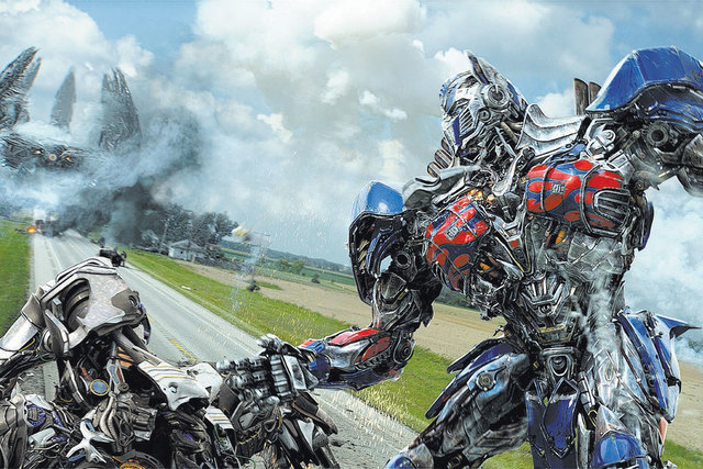 """Optimus Prime in """"Transformers: Age of Extinction."""" (Courtesy/Paramount Pictures)"""