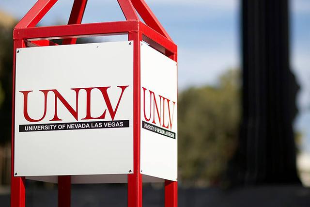 UNLV campus. Courtesy (UNLV/Facebook)