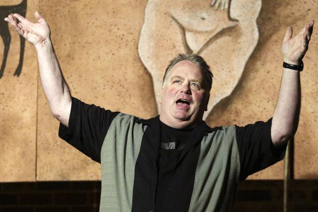 Caveman Show Las Vegas : 'caveman author emergest to explain hands off approach