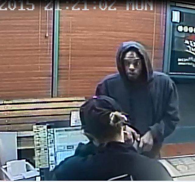 Anyone with any information on the robbery can call police at 702-828-3591. To remain anonymous, contact Crime Stoppers at 702-385-5555 or www.crimestoppersofnv.com. (Courtesy)