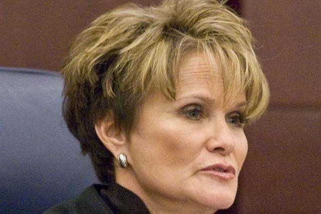 Nevada Supreme Court Justice Nancy M. Saitta (File, Jerry Henkel/Las Vegas Review-Journal)