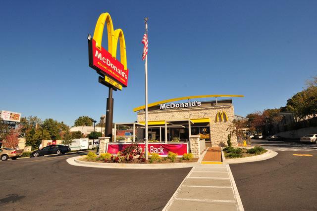 A McDonald's Restaurant in Atlanta, Georgia. (CNN/File)