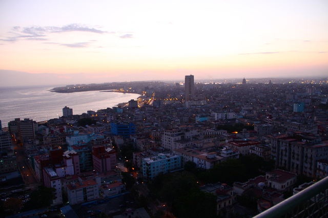 A cityscape of Havana, Cuba at sunrise on March 25, 2012. (CNN)