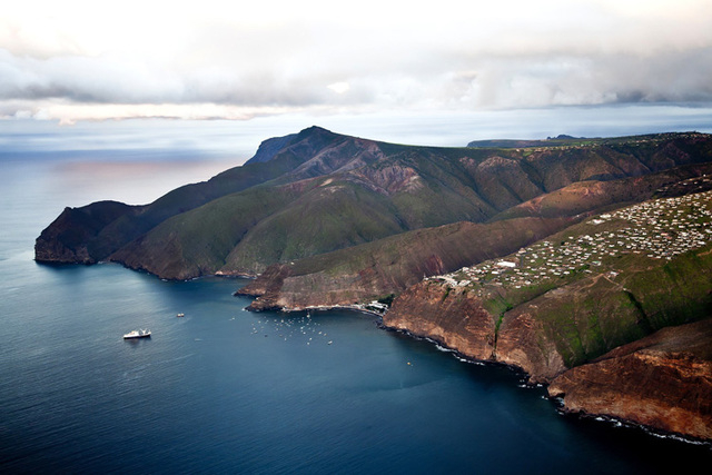 Much of remote St. Helena island's appeal lies in its inaccessibility. But in February 2016 the island's first airport will open, servicing weekly flights from Johannesburg. (CNN)
