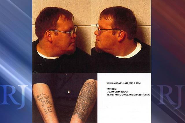 William Jones, 40. (Nye County Sheriff's Office)
