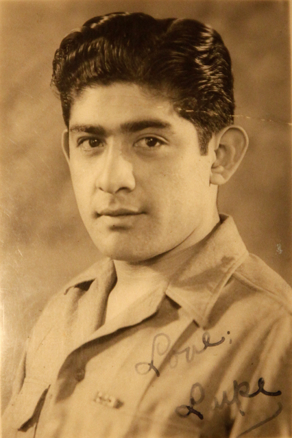 Guadalupe Olvera while he was in the military. (Courtesy)