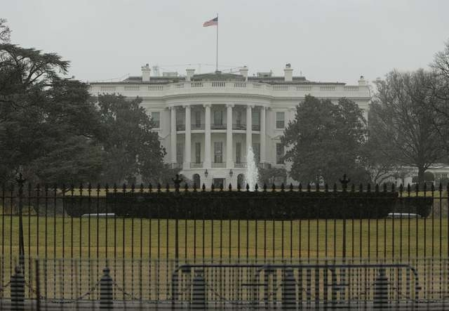 The South Lawn of the White House is pictured in Washington, Jan. 26, 2015. (REUTERS/Gary Cameron)