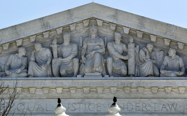 The U.S. Supreme Court is pictured in Washington March 31, 2015. (REUTERS/Yuri Gripas)