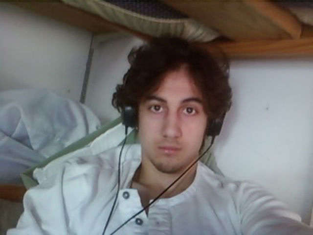 Dzhokhar Tsarnaev is pictured in this handout photo presented as evidence by the U.S. Attorney's Office in Boston, Massachusetts on March 23, 2015. REUTERS/U.S. (Attorney's Office in Boston/Handou ...