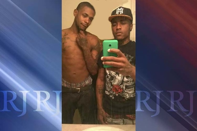 "Michael De Angelo Scott (L) and Jehru Petty-Williams (R), otherwise known as ""Bones"" and ""Louie Vee"" are seen. (Courtesy, Las Vegas Metropolitan Police Department)"