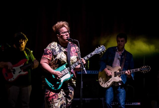Alabama Shakes performs at Brooklyn Bowl Las Vegas at The Linq in Las Vegas, NV on April 18, 2015. (Courtesy, Erik Kabik)