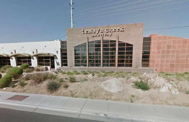 Brandon Hill was convicted last week in the March 2011 slaying outside the Tenaya Creek Brewery at 3101 N. Tenaya Way. (Screengrab, Google Maps)