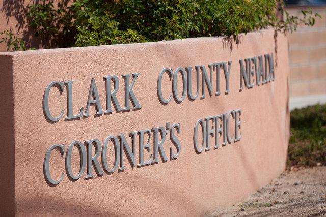 Clark County coroner's office. (Chase Stevens/Las Vegas Review-Journal)