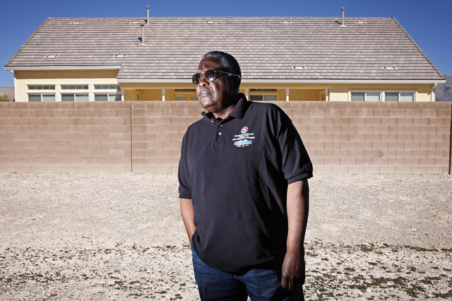 Willie McTear poses for a portrait at his home in Las Vegas Wednesday, March 12, 2014. McTear served in Charlie Company of the Army 9th Division's 4th Battalion, 47th Infantry Regiment during the  ...