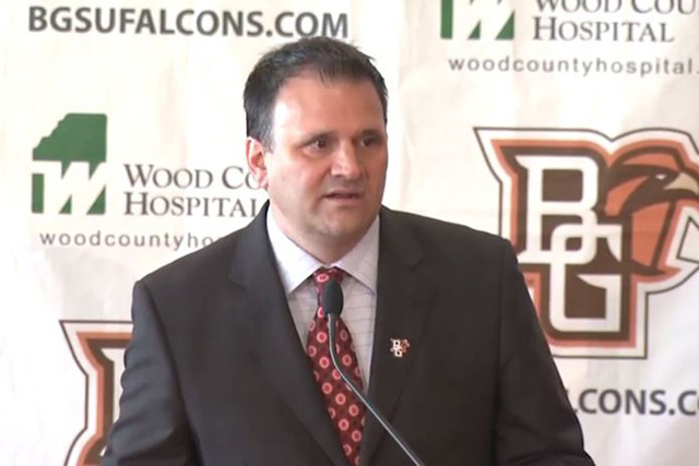 Bowling Green fired men's basketball coach Chris Jans following an investigation into his public conduct. (Screengrab/bcsnsports/YouTube)
