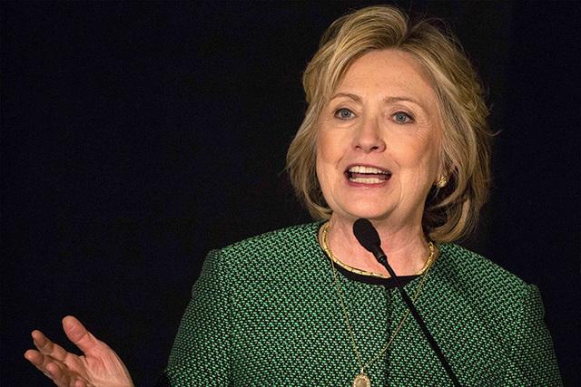 Former Secretary of State Hillary Clinton on March 16, 2015. (Brendan McDermid/Reuters)