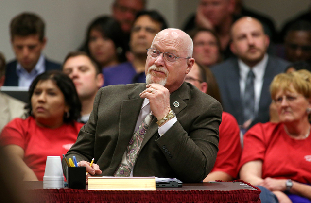 Nevada Assemblyman Randy Kirner, R-Reno, at the Legislative Building in Carson City, Nev., on Wednesday, March 25, 2015. (Cathleen Allison/Las Vegas Review-Journal)