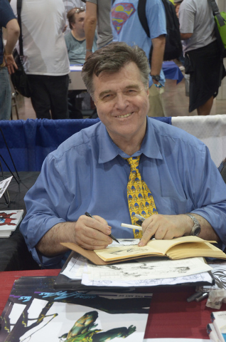 Pioneering comic book artist Neal Adams will meet fans at Wizard World. (Courtesy)
