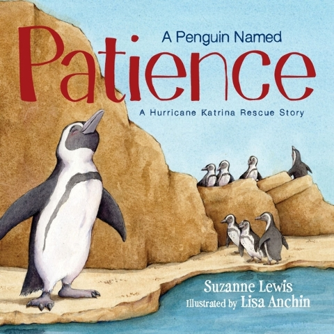 Patience keeps her cool despite Hurricane Katrina in this new children's book. (Special to View)