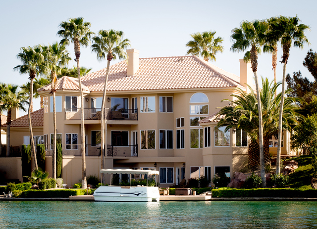 Tonya Harvey/Real Estate Millions  A home on Lake Sahara at The Lakes.