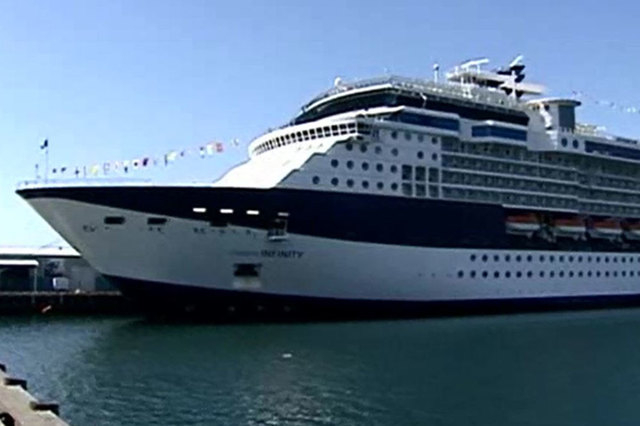 The Celebrity Infinity saw 106 of its 2,117 guests and six of its 964 crew members come down with what was determined to be the highly contagious norovirus. (Screengrab/Reuters)