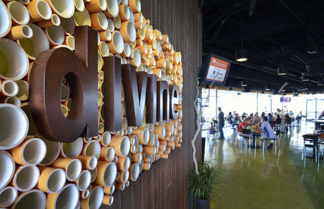The interior of the Divine Cafe at the Springs Preserve is shown at 333 S. Valley View Blvd. in Las Vegas on Saturday, Sept. 20, 2014. (Bill Hughes/Las Vegas Review-Journal)