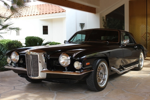 Elvis owned this rare Stutz until he gave it to his doctor for free like a crazy rich person. (Courtesy)
