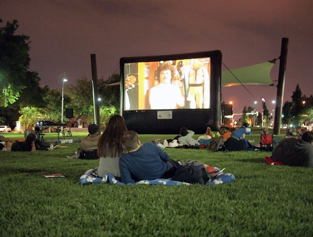The Huntridge Foundation and West Huntridge Neighborhood Association plan the 2015 Cinema in the Circle, featuring picnic-style, outdoor movie screenings. The films will be family classics project ...