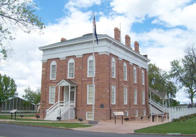 Fillmore Territorial Statehouse Utah (Courtesy)