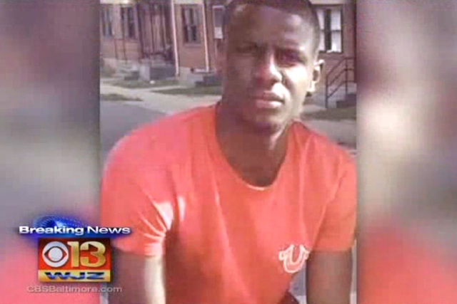 Freddie Gray, a 27-year-old black man, was arrested by white officers on April 12 and died days later after slipping into a coma. A preliminary autopsy report said he died from a spinal injury. (S ...