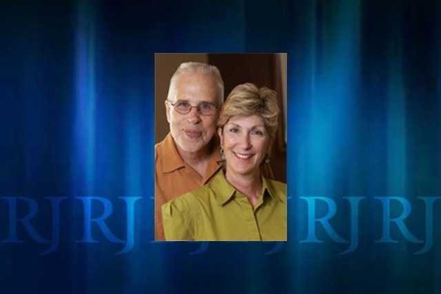 Gary Gray and Chris Giunchigliani in a photo from the commissioner's website.
