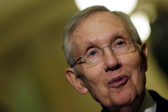 Harry Reid has announced he'll retire from the U.S. Senate at the end of his term. (Reuters/Gary Cameron)