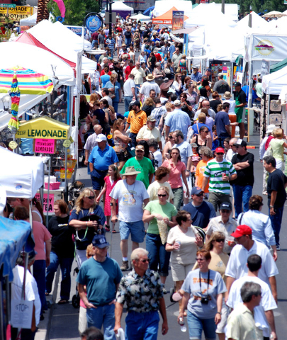 The city of Henderson plans its Art Festival from 9 a.m. to 4 p.m. May 9 and 10 at the Henderson Events Plaza, 200 S. Water St. The event is set to include live entertainment, food vendors, a kids ...