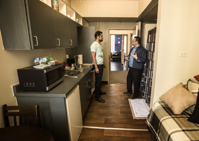Downtown project breaks through with apartment building for The model apartment review