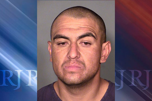 Jaime Zuniga, 29, faces several charges including murder with the beating death of Edward Michael Turner on Monday, March 23, 2015. (Courtesy/Las Vegas Metropolitan Police Department)