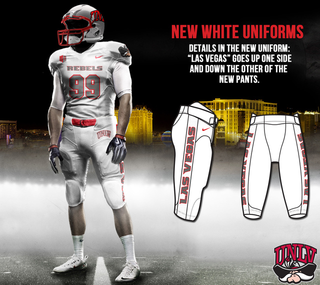 official photos 05e26 c77d5 Check out Rebels' new football uniforms | Las Vegas Review ...
