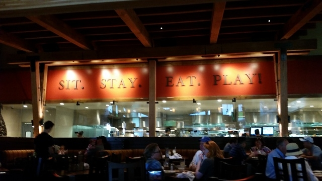 Lazy Dog Restaurant opened April 6 at Downtown Summerlin, 1725 Festival Plaza Drive, Suite A2. (Lisa Valentine/View) (Click for more photos)