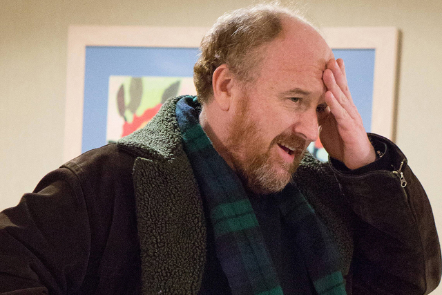 "Louis C.K. in the episode entitled ""Pot Luck."" (KC Bailey/FX)"