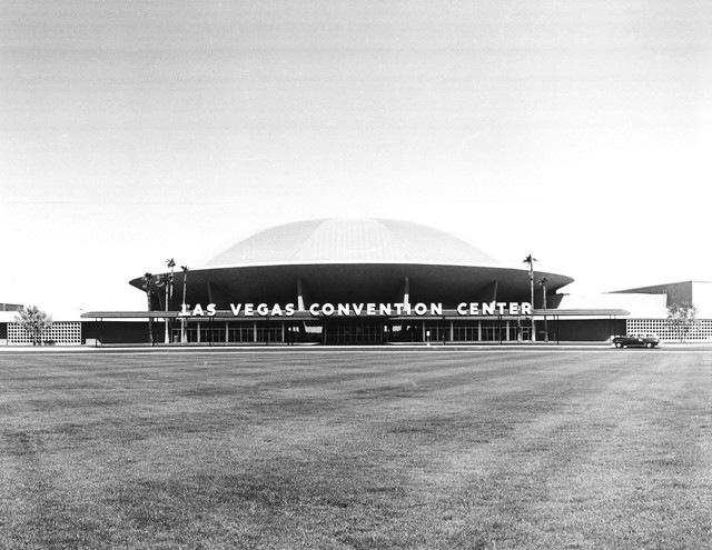 The Las Vegas Convention Center dome is shown in this undated file photo.